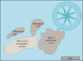 Map of CT dive site South Paw.png