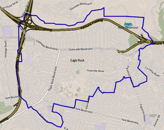 Eagle Rock, Los Angeles Neighborhood of Los Angeles in California, United States of America
