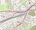 Map of Edinburgh Haymarket mainline station and tram stop (OSM standard, zoom 16).jpg