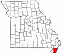 Map of Missouri highlighting Pemiscot County.png