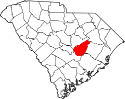 Map of South Carolina highlighting Clarendon County.svg