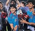 Maradona napoli uefa cup.jpg