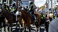 March for England 2012 police escort.jpg