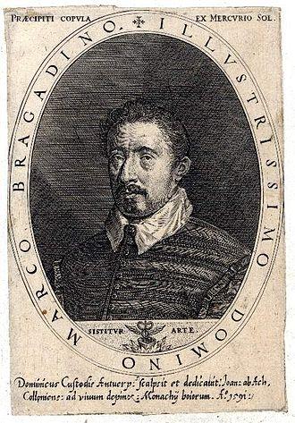 Marco Bragadino - Bragadino's portrait