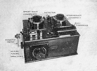 Telecommunications engineering - Marconi crystal radio receiver