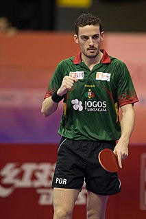 Marcos Freitas Portuguese table tennis player