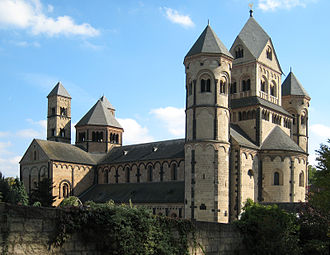 Romanesque architecture - Maria Laach Abbey, Germany