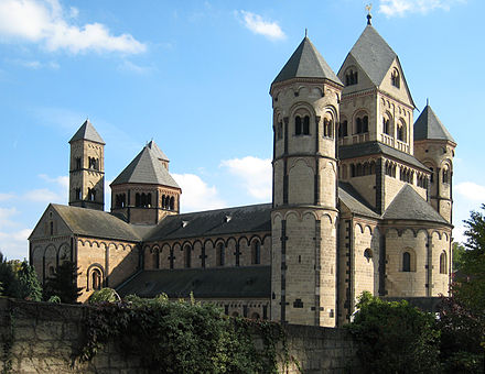 The Romanesque Church of Maria Laach, Germany Maria Lach 02.jpg