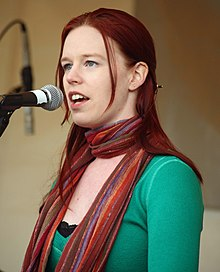 Marian Call performing at the 2011 KSKA Day picnic.jpg