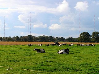 VLF transmitter DHO38 transmitter