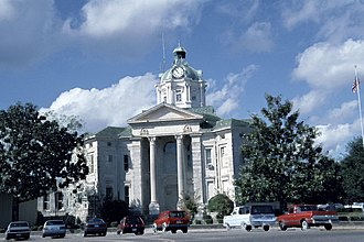 Columbia, Mississippi - Marion County courthouse in Columbia