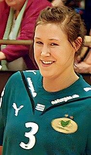 Marit Malm Frafjord Norwegian handball player