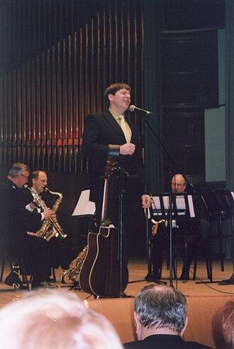 Marko Matvere - Matvere performing in Minsk, 2008.