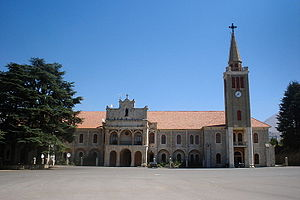 Dimane - The Maronite Patriarch summer residence, located in Dimane.