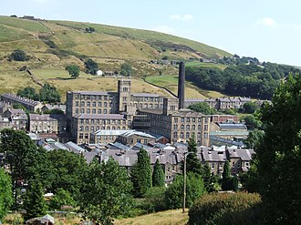 Marsden, West Yorkshire - Image: Marsden Mill