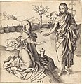 Martin Schongauer, Christ Appearing to Mary Magdalene, c. 1480-1490, NGA 46391.jpg