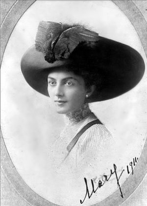 Galaktion Tabidze - Princess Mary is often thought to be Galaktion's muse. (1911)