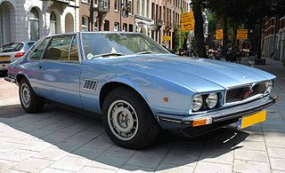 Maserati Kyalami Grand tourer manufactured by Italian automobile manufacturer Maserati from 1976–1983 as a successor to the Maserati Mexico