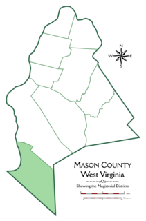 Hannan District, Mason County, West Virginia Magisterial district in West Virginia, United States