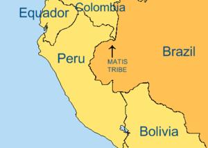 Matis - Image: Matis tribe base
