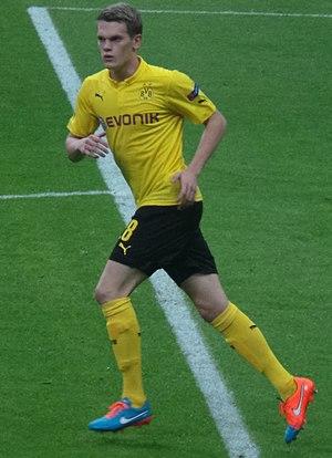 Matthias Ginter - Ginter with Borussia Dortmund in 2014