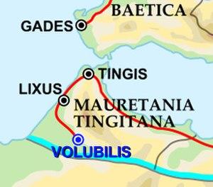Volubilis - Image: Mauretania Tingitania Volubilis