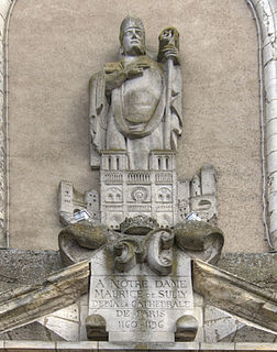 Maurice de Sully medieval churchman