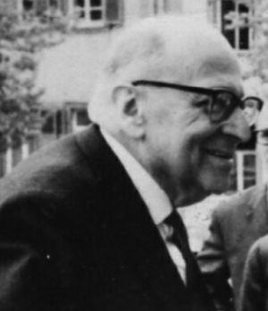 Max Horkheimer - Heidelberg, April 1964 (Age 70)