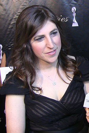 English: Mayim Bialik.
