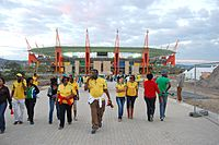 Mbombela Stadium crowd leaving.jpg