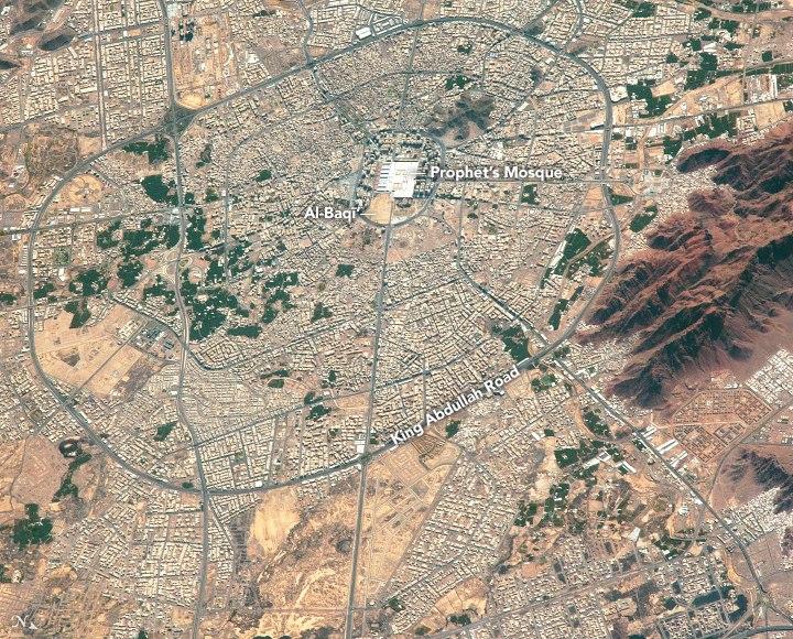Medina from ISS 2017