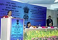 Meira Kumar speaking at the inauguration of the National Conference on prevention of atrocities against the persons belonging to Scheduled Castes and Scheduled Tribes in New Delhi on January 11, 2005.jpg