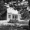 Mejmon-chona – front domu gościnnego w gospodarstwie arbaba Chodżi Muhammad Amin Chana - Afganistan - 001991n.jpg