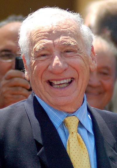 Mel Brooks, American director, writer, actor, and producer