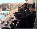 Members of VFW posts in South Korea watch a repatriation ceremony from the balcony of the Freedom House at Panmunjom 981009-F-CP197-502.jpg