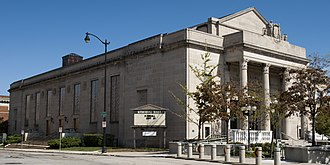 Memorial Hall (Racine, Wisconsin) - Image: Memorial Hall Racine, WI