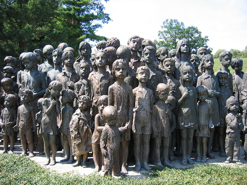 File:Memorial lidice children (2007)-commons.JPG
