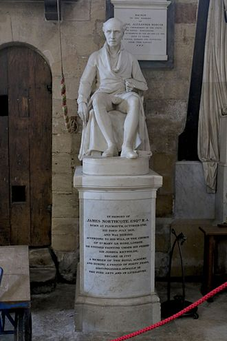 James Northcote - Memorial in Exeter Cathedral