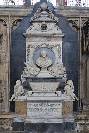Henry Medley - Memorial in York Minster