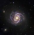 Messier 100 and Supernova SN 2006X.jpg