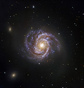 Messier 100 and Supernova SN 2006X.jpg