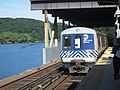 Metro-North train pulling into Marble Hill Station.jpg