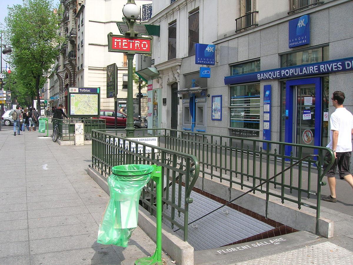 Tolbiac paris metro wikipedia - 13 avenue de la porte d italie ...
