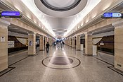 Metro SPB Line5 Sportivnaya Lower Hall 2.jpg