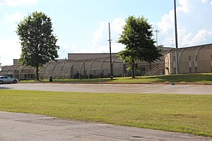Metro State Prison - Buildings at Metro State Prison