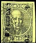 Mexico 1870 12c Sc59 Puebla.jpg