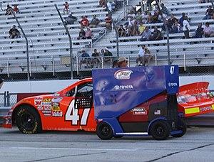 Michael McDowell (racing driver) - McDowell's 2009 No. 47 Nationwide car