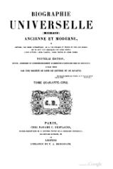 Michaud - Biographie universelle ancienne et moderne - 1843 - Tome 45.djvu