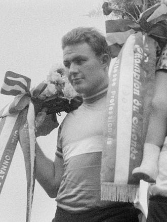 Michel Rousseau (cyclist) - Michel Rousseau at the 1959 World Championships