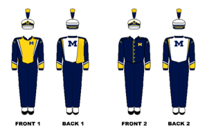 Michigan Marching Band - Image: Michigan Marching Band Uniform